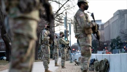 Pentágono autoriza armas letales en el día de investidura de Biden