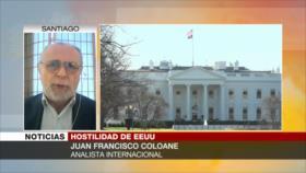 Coloane: EEUU ve a Ansarolá como una amenaza a su hegemonía