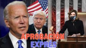 Detrás de la Razón: Cámara Baja estadounidense aprueba juicio al presidente en medio de caos político