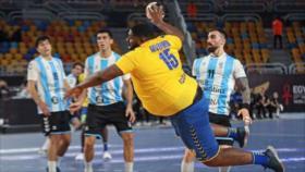 Vídeo: Mvumbi, el viral pivote de 110 kilos en Mundial de balonmano