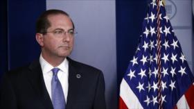 Secretario de salud de EEUU renuncia por disturbios en el Capitolio