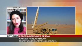 'Irán, con sus ejercicios militares, envía mensaje claro a Biden'