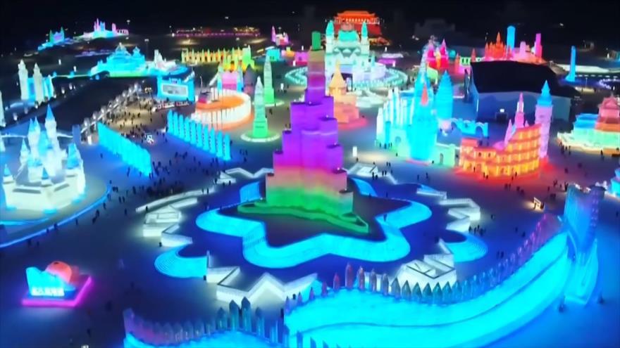 El Toque: Impresionantes palacios de hielo en festival de Harbin (China), Caza furtiva de halcones, Cerámica de Serbia figura en la lista de la UNESCO, La turbina que genera energía gracias al tránsito de vehículos