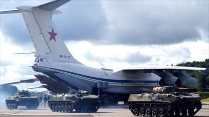 Vídeo: Rusia despliega más tropas y equipos en el noreste de Siria