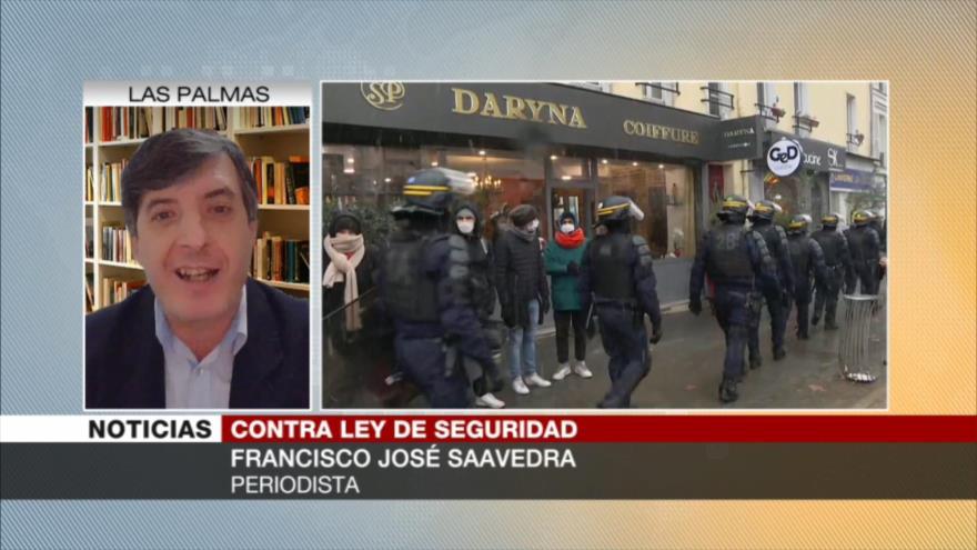 Saavedra: Polémica ley de Francia invade la intimidad de ciudadanos