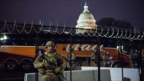 Detenido un hombre fuertemente armado cerca del Capitolio de EEUU