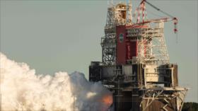 Vídeo: NASA realiza prueba de fuego para volver a pisar la Luna