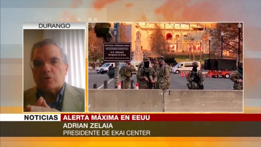 Zelaia: EEUU está en una guerra civil fría desde hace tiempo | HISPANTV