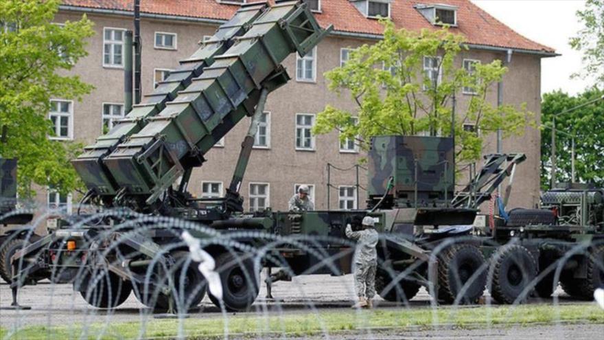 Batería de misiles tierra-aire Patriot de EE.UU., miembro de la OTAN, en una base en Polonia. (Foto: Reuters)