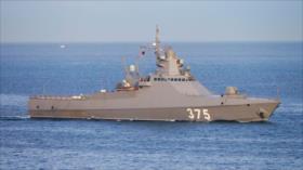 Vídeo: La Armada rusa envía un buque patrullero a Siria