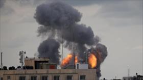 Israel vuelve a bombardear zonas en la Franja de Gaza
