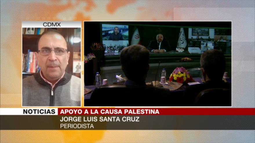 Santa Cruz: La causa palestina debe oírse en todo el mundo