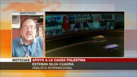 Silva: Hay que reactivar solidaridad internacional con Palestina