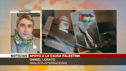 Lobato: La resistencia armada palestina es un derecho natural