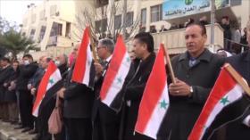 En Siria protestan contra presencia de los militares de Turquía