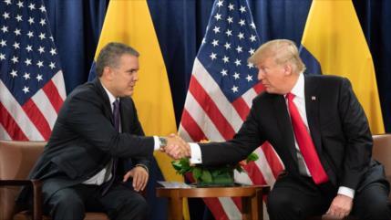 Senador de FARC denuncia servilismo de Bogotá a EEUU ante Cuba