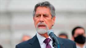 Casi la mitad de los peruanos desaprueba la gestión de Sagasti