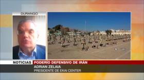 Zelaia: Maniobras de Irán son un mensaje a EEUU y sus aliados