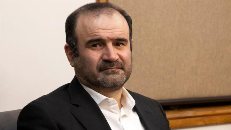 El presidente de la Organización de Bolsa y Valores de Irán (SEO, por sus siglas en inglés), Hasan Qalibaf Asl.