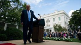 Europeos, felices por derrota de Trump, ven roto el sistema de EEUU