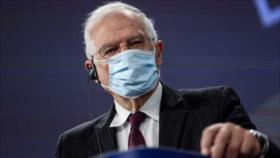 """Borrell pide a Biden promover una salida """"pacífica"""" en Venezuela"""