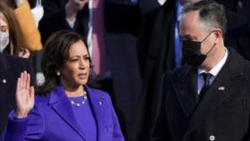 Kamala Harris jura como nueva vicepresidenta de Estados Unidos