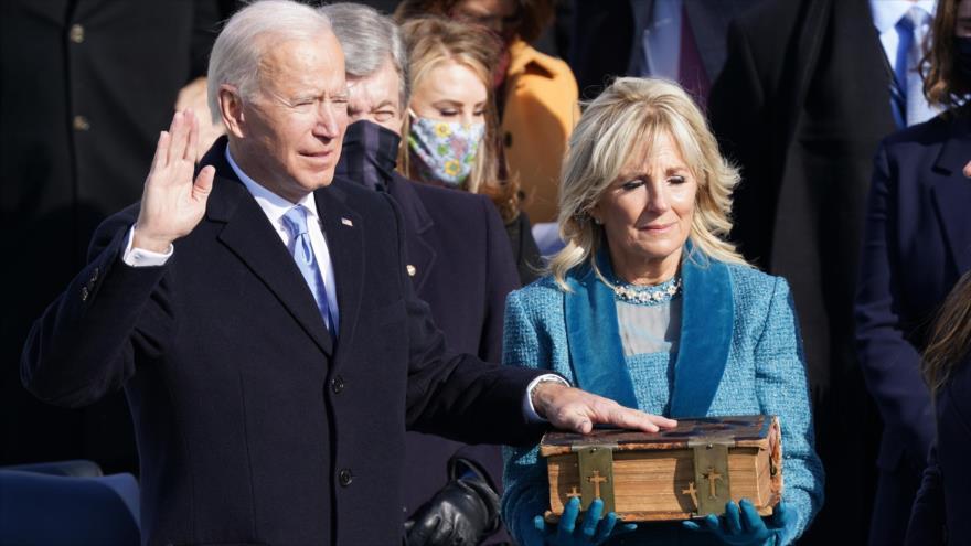 En imágenes: Joe Biden jura como el 46.º presidente de EEUU