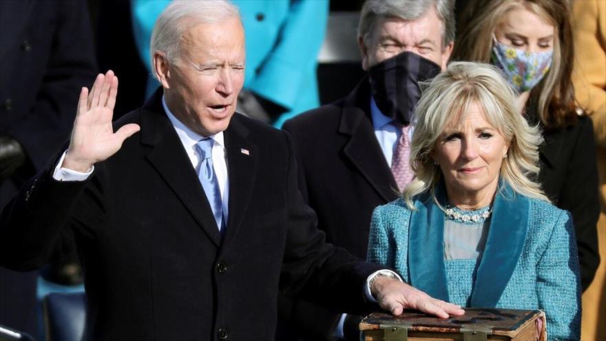 Joe Biden jura como el 46.º presidente de EEUU