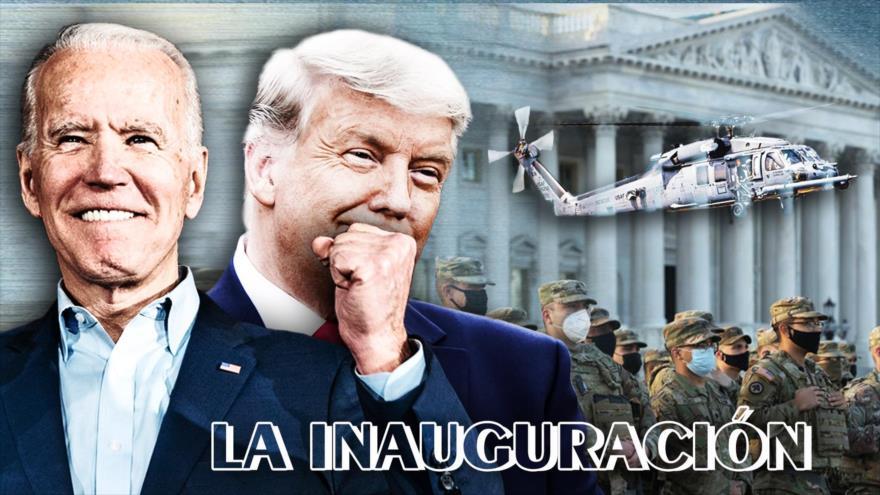 Detrás de la Razón: Acto inaugural del nuevo presidente estadounidense en medio de miles de soldados