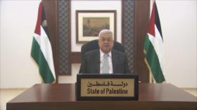Abás insiste a Biden en establecer la paz y estabilidad en la región