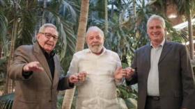 Lula da Silva en Cuba: Trump deja la historia por la puerta trasera