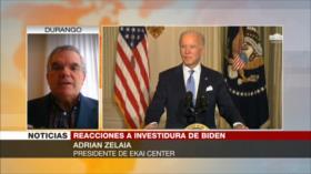 Zelaia: Estrategia de Trump es un elemento peligroso para Biden