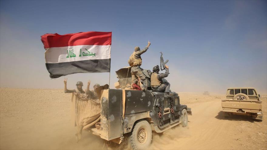 Las fuerzas iraquíes en la provincia de Níneve, 18 de octubre de 2016. (Foto: AFP)