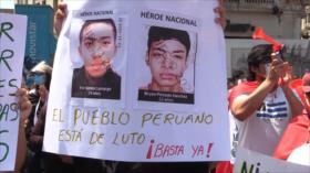 Policía peruana es juez y parte en caso por muertes en protestas