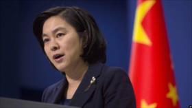China censura 'injerencia flagrante' de UE en sus asuntos internos