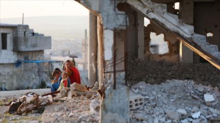 Ataque de Israel mata a una familia entera en Hama, Siria