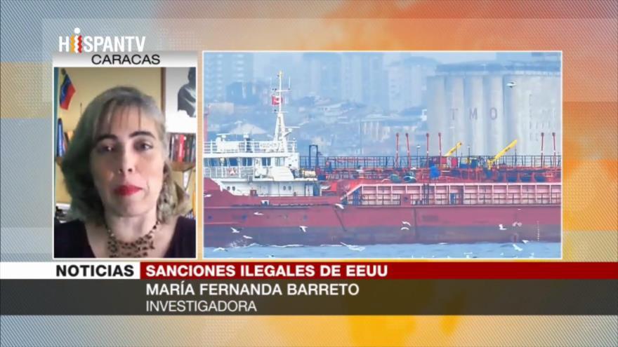 Barreto: Sanciones de EEUU justifican robo de los recursos de Venezuela
