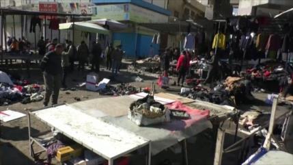Daesh reivindicó la autoría del ataque suicida en Bagdad