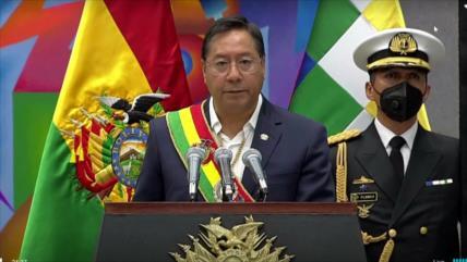 Luis Arce promete salvar Bolivia del cataclismo que está viviendo