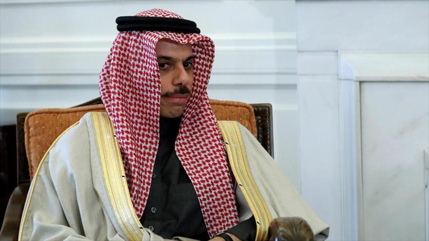 El ministro saudí de Asuntos Exteriores, el príncipe Faisal bin Farhan Al Saud.