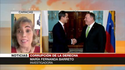 Barreto: Guaidó robó a los venezolanos para beneficiar a EEUU