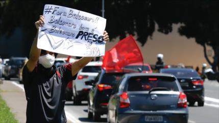 "Vídeo: Caravanas en todo Brasil piden ""impeachment"" para Bolsonaro"