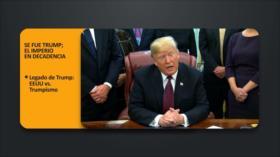 PoliMedios: Se fue Trump; el imperio en decadencia