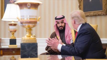 'Ansioso por perder a Trump, Bin Salman busca el apoyo de Israel'