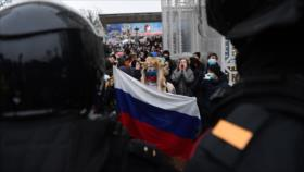 """Rusia tendrá """"conversación seria"""" con EEUU por promover protestas"""