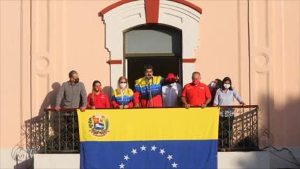 Protestas contra EEUU. Fracaso de Guaidó. Críticas al régimen golpista - Boletín: 12:30- 24/01/2021