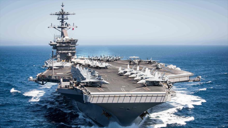 El portaviones USS Theodore Roosevelt.