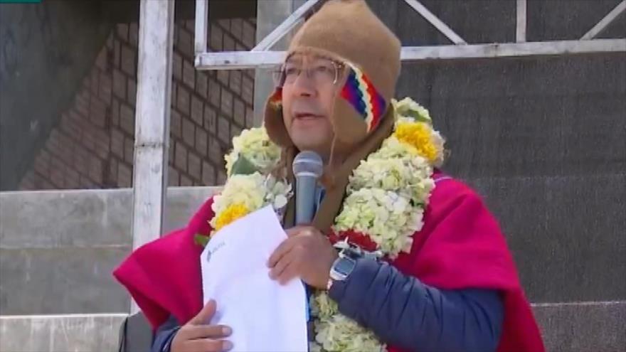 Arce culpa a gobierno de facto de Añez por mal manejo de pandemia | HISPANTV
