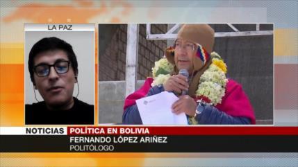 Ariñez: Arce tiene planeado mejorar la mala situación de Bolivia