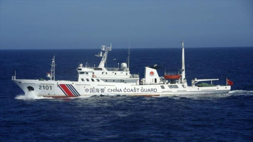 Un barco de la Guardia Costera china. (Foto: AFP)